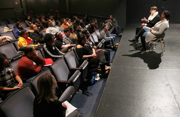 Photo Flash: The Broadway League and NYC Department of Education's High School Broadway Shadowing Program Workshop