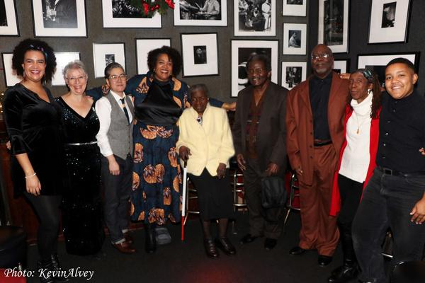 Pilar Jefferson, Marla Solomon, Sung Park, Cara Page, Geraldine de Haas, Andy Bey, Marvin Jefferson, Rasheedah Sampson, Sajo Jefferson