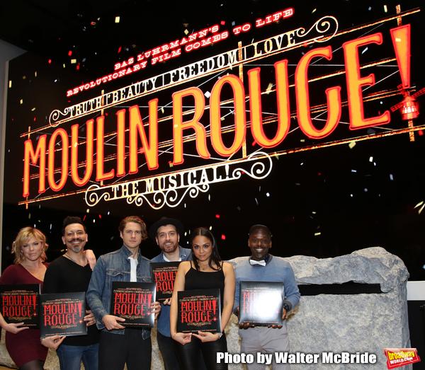 Robyn Hurder, Ricky Rojas, Aaron Tveit, Tam Mutu, Karen Olivo and Sahr Ngaujah  Photo
