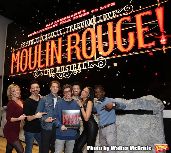 Robyn Hurder, Ricky Rojas, Aaron Tveit, Justin Levine, Tam Mutu, Karen Olivo and Sahr Photo