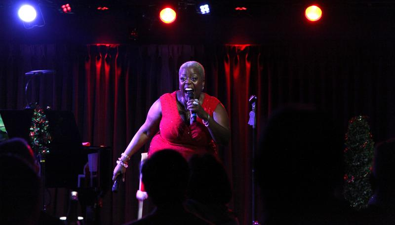 BWW Review: A LILLIAS WHITE CHRISTMAS Brings Soul, Scatt and Christmas Spirit to The Green Room 42.