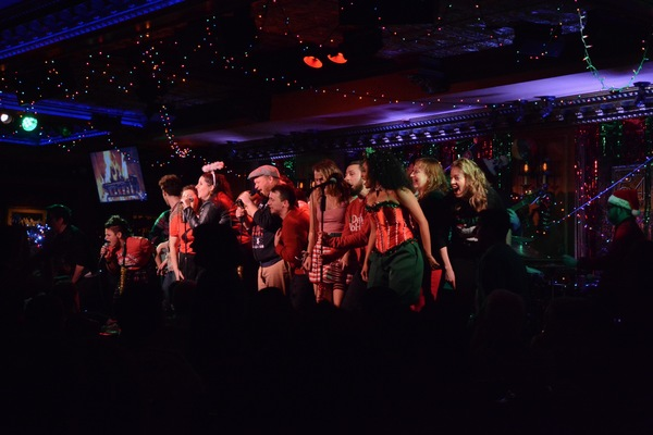 The Cast of the 12th Annual Joe Iconis Christmas Extravaganza Photo