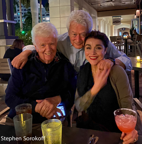 Dick Robinson, Legends Radio, Stephen Sorokoff, Christine Andreas Photo
