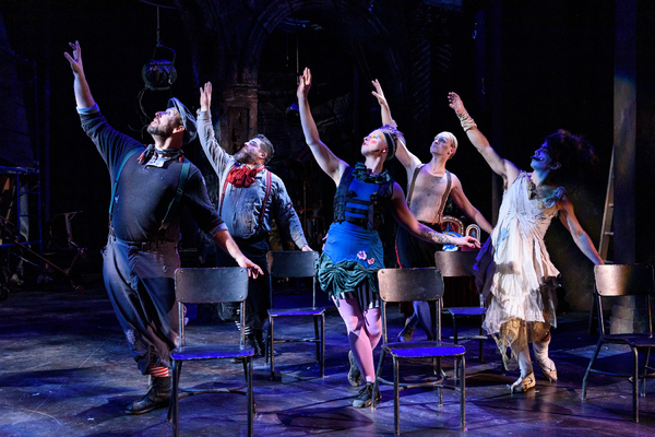Jay Torrence as Robert Murray; Anthony Courser as Henry Gilfoil;  Leah Urzendowski as Nellie Reed; Ryan Walters as Eddie Foy and Crosby Sandoval as Faerie Queen