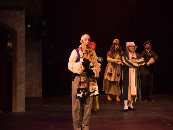 Photo Coverage: Curtain Call And Press Night Of The Troubies' A CHRISTMAS CAROLE KING
