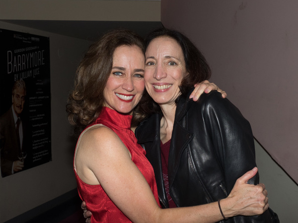 Beth Kennedy and Alicia Ruskin
