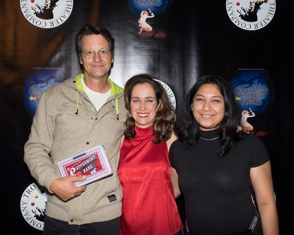 Eddy Will, Beth Kennedy, and Paidge Oo Photo