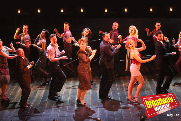 Photo Flash: First Look at CURTAINS at Wyndham's Theatre