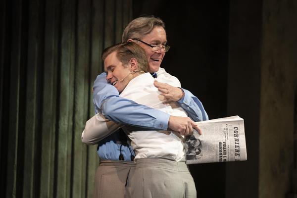 Rob Houchen and Alex Jennings Photo