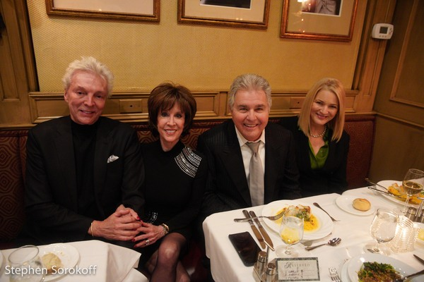 John Griffith, Deana Martin, Steve Tyrell, Janine Sharell Photo
