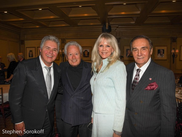 Steve Tyrell, Stephen Sorokoff, Alyse Lo Bianco, Tony Lo Bianco Photo