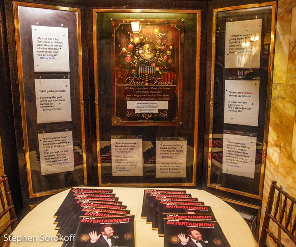 Photo Coverage: 'Baby It's Cold Outside' at the Friars Club as Deana Martin Duets With Steven Maglio