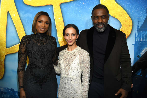 Jennifer Hudson, Francesca Hayward, and Idris Elba Photo