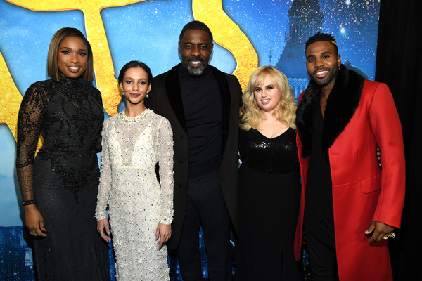 Jennifer Hudson, Francesca Hayward, Idris Elba, Rebel Wilson, and Jason Derulo Photo