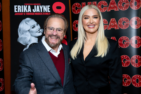 Barry Weissler, Erika Jayne Photo