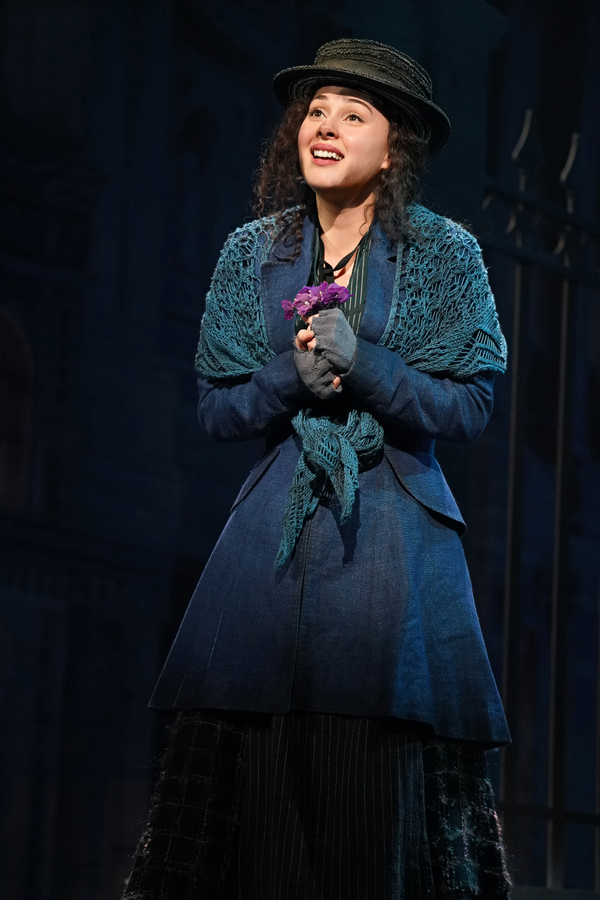 Shereen Ahmed as Eliza Doolittle in The Lincoln Center Theater Production of Lerner & Photo