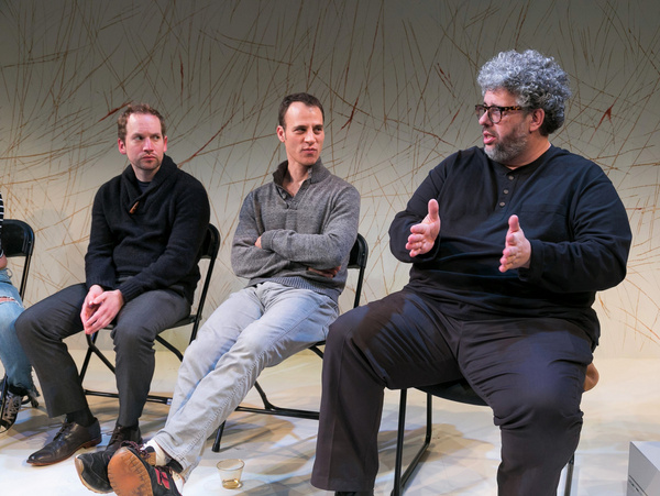 Photo Flash: Neil LaBute Joins The Cast Of IN A DARK DARK HOUSE For Post Show Discussion