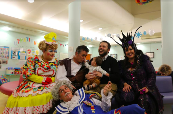 Photo Flash: Panto Stars Visit Patients At Bristol Children's Hospital This Christmas