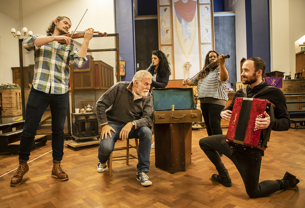 Dave Willetts and cast Photo