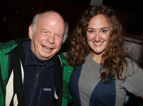 Wallace Shawn and Jacqueline Novak Photo
