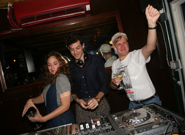 Mark Ronson, Jacqueline Novak and Director John Early  Photo
