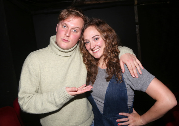 Director John Early and Jacqueline Novak  Photo