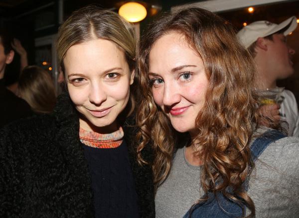 Annabelle Dexter-Jones and Jacqueline Novak  Photo