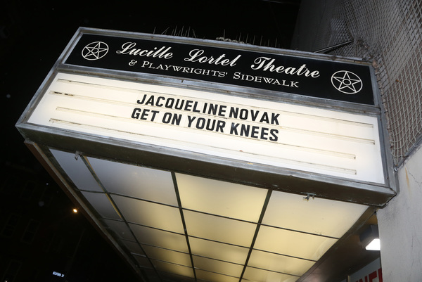 "(Re)Opening Night of Jacqueline Novak's ""Get On Your Knees""  Photo"