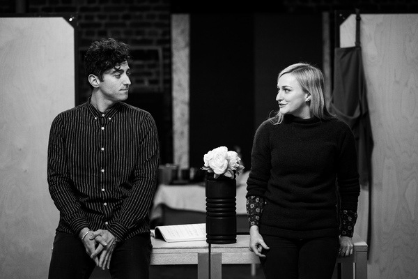 Photo Flash: Inside Rehearsal For ROMANTICS ANONYMOUS at Bristol Old Vic