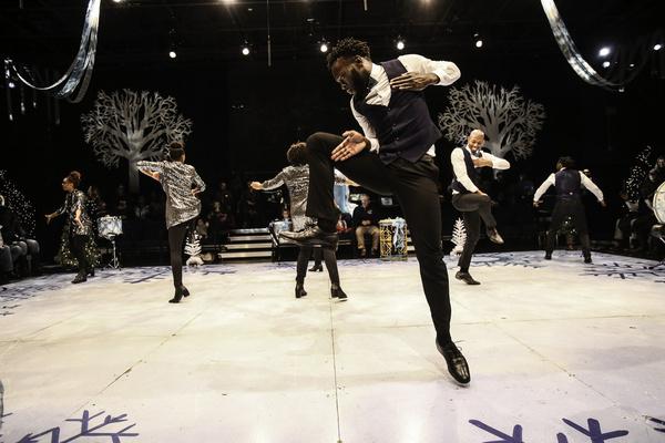Photos: A Look Inside Step Afrika!'s Magical Musical Holiday Step Show