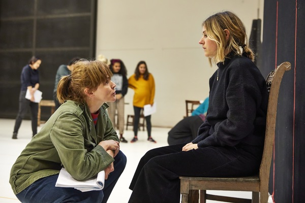 Photo Flash: Go Inside Rehearsals for THE WELKIN at the National Theatre