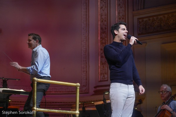 Photo Coverage: The New York Pops Rehearses For It's Holiday Concert