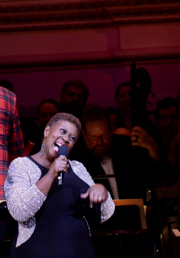 Photos: Capathia Jenkins Performs at The New York Pops Holiday Show