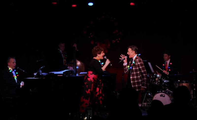 BWW Review: A SWINGING BIRDLAND CHRISTMAS Gives Audiences Life at Birdland with Klea Blackhurst, Jim Caruso and Billy Stritch