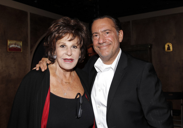 Lainie Kazan and Eugene Pack. The Pack at The Ruskin...A Holiday-Themed Evening. Phot Photo