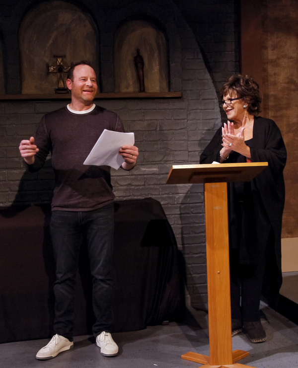 Larry Dorf and Lainie Kazan in The Pack at The Ruskin...A Holiday-Themed Evening. Pho Photo