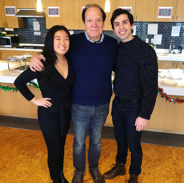 Photos: Cast of Arena Stage's NEWSIES and Ken Ludwig Volunteered at the United Service Organization