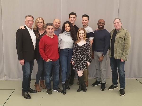 Photo Flash: Take a Look at First Day of Rehearsal Photos for ROMEO & BERNADETTE