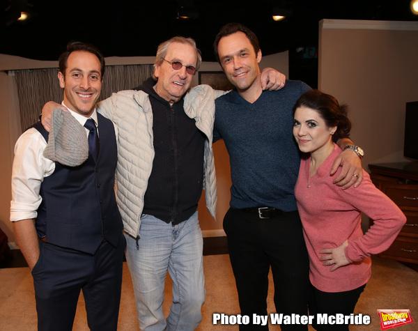 Jordan Sobel, Danny Aiello, Christopher M. Smith and Caitlin Gallogly during the Off- Photo