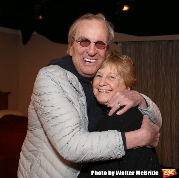 Danny Aiello and Kathleen K. Johnson during the Off-Broadway Opening Night of 'Fierce Photo