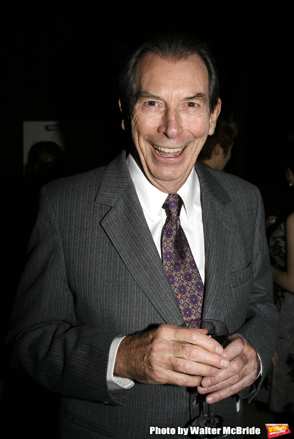 Richard Easton attending the Primary Stages 23rd Anniversary Gala honoring Jack O'Bri Photo
