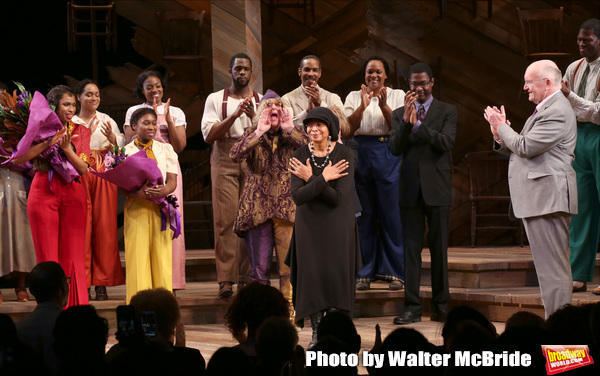 Jennifer Hudson, Cynthia Erivo, Allee Willis, Marsha Norman, Alice Walker, John Doyle Photo