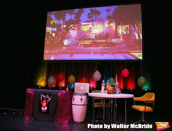 Allee Willis Stage atmosphere for La Mama's 55th Anniversary Gala at La Mama on Novem Photo