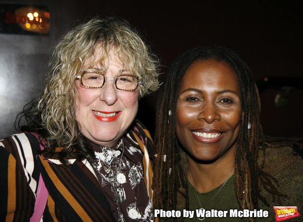 Allee Willis & Brenda Russell attending Opening Night performance reception for THE C Photo
