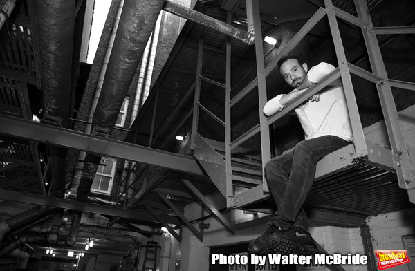 Charlie Cox during his Broadway Debut Photo Shoot  at the Bernard B. Jacobs Theatre o Photo