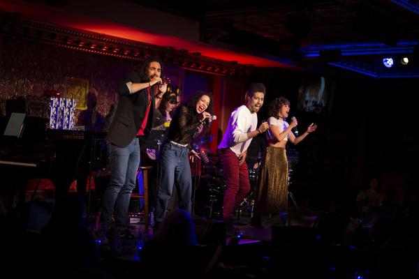 Trent Saunders, Alanna Saunders, Heath Saunders, Claire Saunders. Photo: Michael Dekk Photo