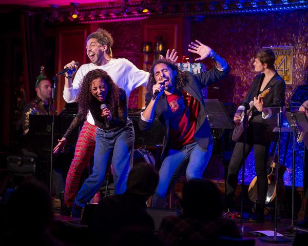Heath Saunders, Alanna Saunders, Trent Saunders. Photo: Michael Dekker. Photo