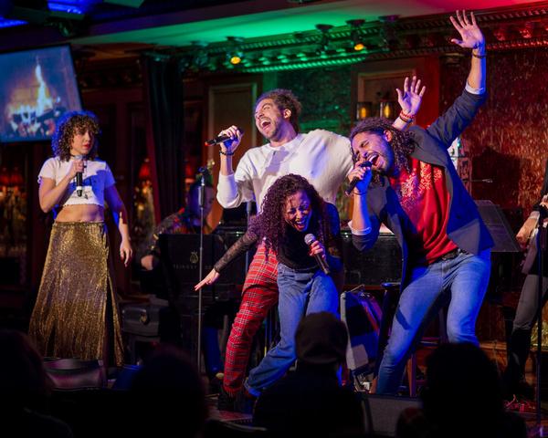 Claire Saunders, Heath Saunders, Alanna Saunders, Trent Saunders. Photo: Michael Dekk Photo