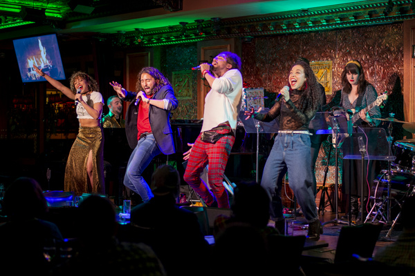 Photo Flash: The Saunders Family In FAMILY DINNER: HOLIDAY EDITION At Feinstein's/54 Below