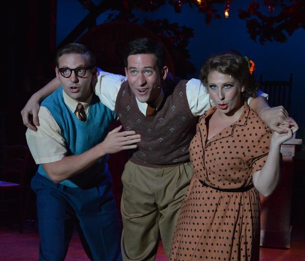 Michael Grieve, Max Meyers, and Rachel Mulcahy Photo